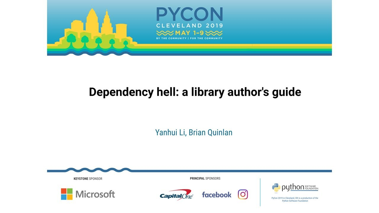 Image from Dependency hell: a library author's guide