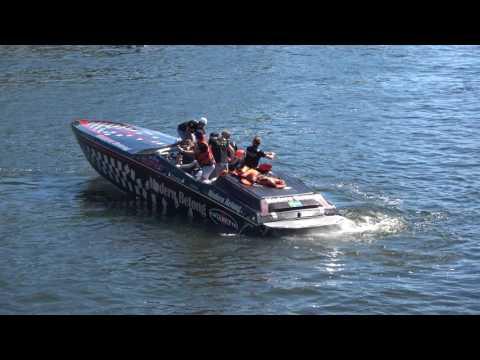 [4k] Powerboat Weekend START with Cigarette, Donzi etc at Strandvägen 56, Stockholm, Sweden