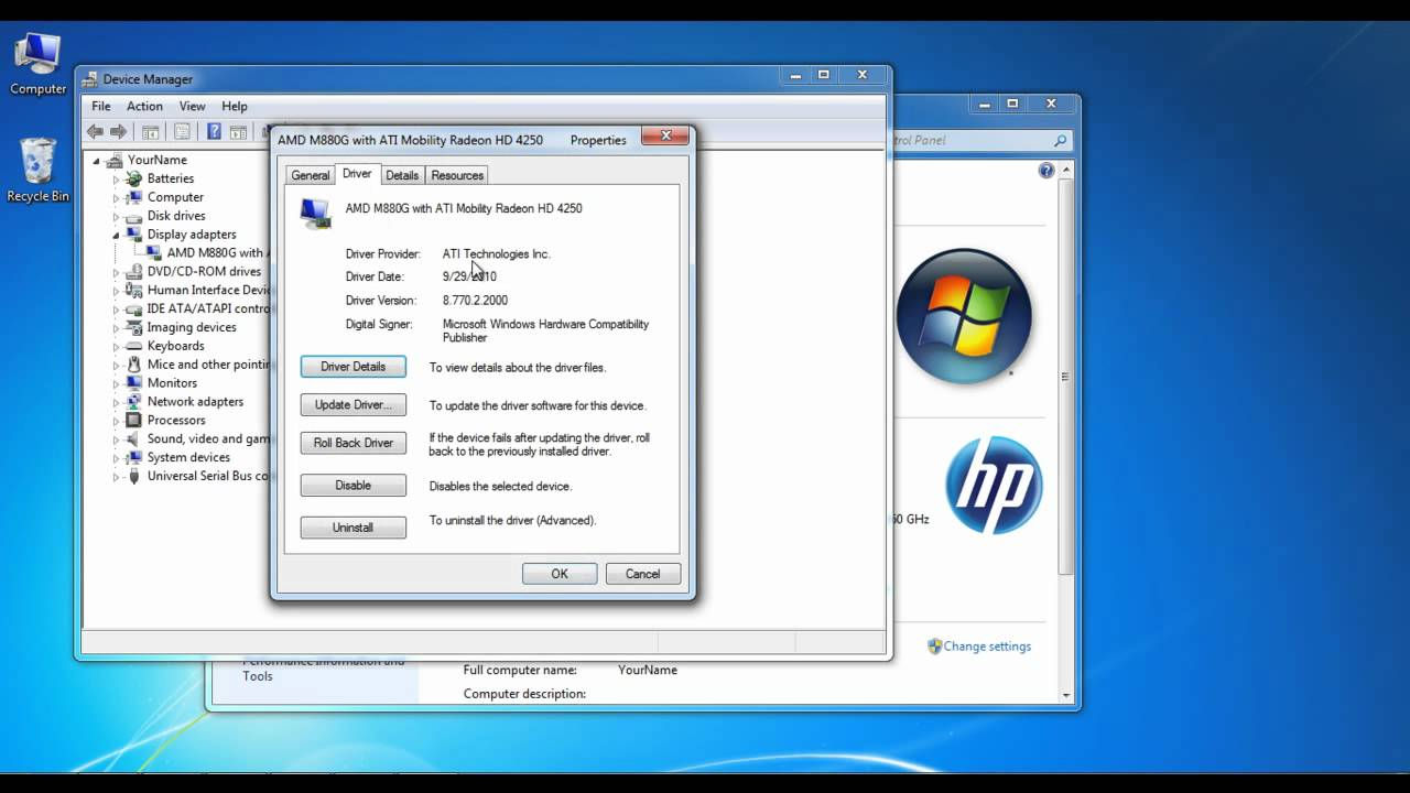 How To Update Drivers for a Video Card