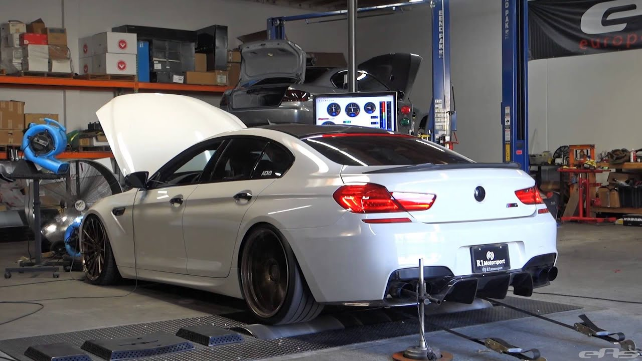 bmw m6 gran coupe dyno ams catless downpipes ecu tune. Black Bedroom Furniture Sets. Home Design Ideas