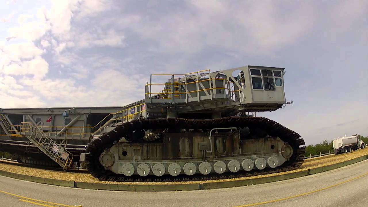 NASA Crawler Transporter-2 Takes Test Drive with SLS ...