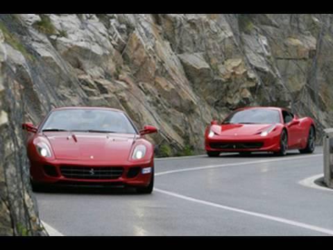 2010 Ferrari 458 Italia Vs 2010 Ferrari California Youtube