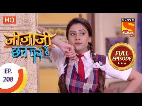 Jijaji Chhat Per Hai - Ep 208 - Full Episode - 24th October, 2018