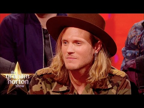 Dougie Poynter Gets Busted For Stalking David Attenborough - The Graham Norton Show