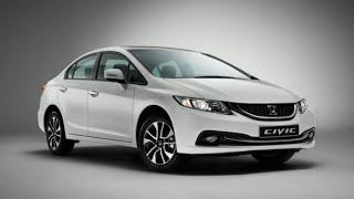 Хонда Цивик 4д (Honda Civic 4d 1.8 2014) - Характеристики и комплектация