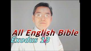 [토크tv] 출애굽기 13장/영어성경공부/영어성경암송/영어성경읽기/ Exodus 13 English Bible Study/Korean Bible Study Department