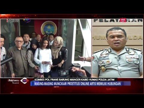 Penjelasan Polda Jatim Terkait Penangkapan Fitria, Muncikari Prostitusi Online - iNews Sore 15/01