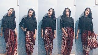 5 Cara Mudah Memakai Kain Batik SIMPLE ANGGUN DAN CANTIK ! | ADELIN SIAHAAN