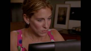 "Every Time Carrie ""Couldn't Help But Wonder"" on Sex and The City"