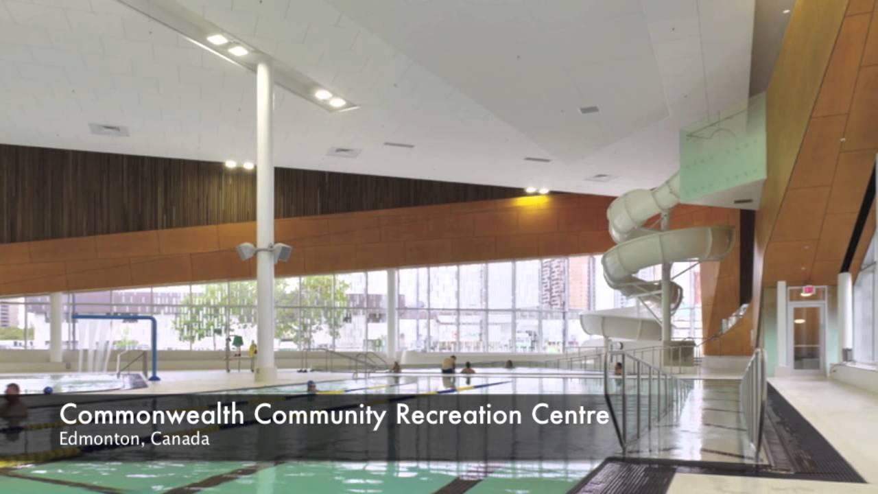 Commonwealth Community Recreation Centre In Edmonton Ioc Iaks Award 2013 Youtube