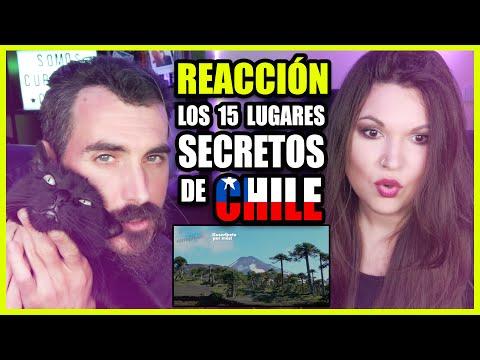 👉 Españoles REACCIONAN a Los 15 lugares secretos de CHILE | Somos Curiosos