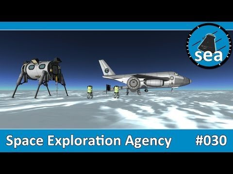 Space Exploration Agency - #30 - The Flight to Antarctica