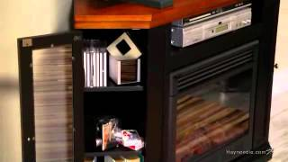Claremont Convertible Electric Fireplace Media Console - Product Review Video