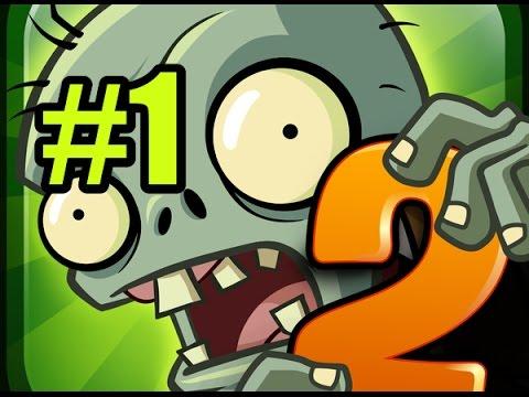 Игра Растения Против Зомби 2 смотреть прохождение от Flavios (Plants vs zombies) #36