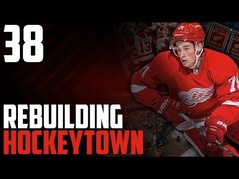 """NHL 17 - Detroit Red Wings Franchise Mode #38 """"The Future"""""""