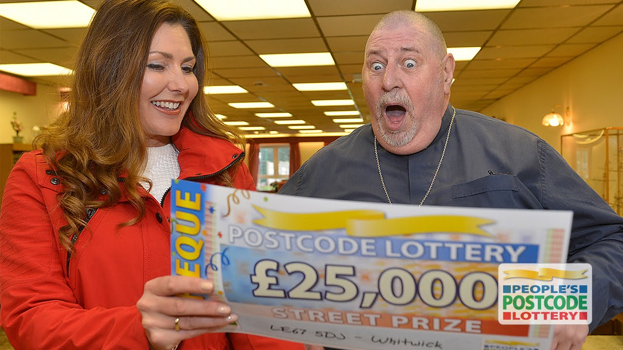 Postcode lottery slots french gambling game crossword