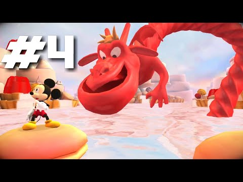 Castle of Illusion starring Mickey Mouse PART 4 Gameplay Walkthrough - iOS/Android |