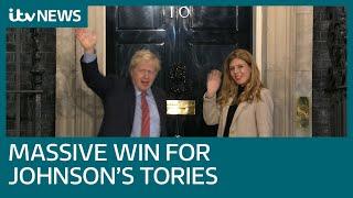 'Let healing begin', Boris Johnson says after Conservatives win 2019 UK General Election | ITV News
