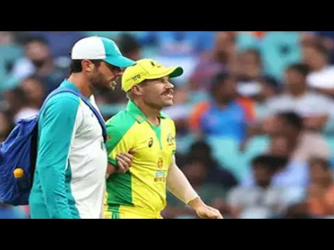 Ind vs Aus: Injured David Warner out of white - ball series