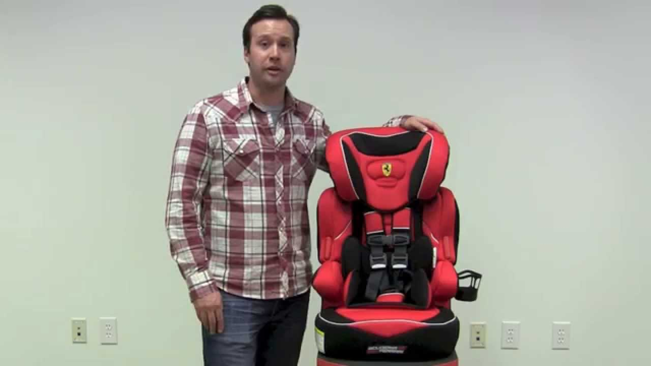 Ferrari Beline 3 In 1 Toddler Booster Car Seat Review By ZSeek