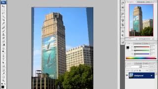 Уроки Adobe Photoshop CS3 - урок 4 - Корректировка перспективы(, 2013-04-11T17:53:29.000Z)