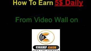 Is Champcash a Easiest ay to earn money online