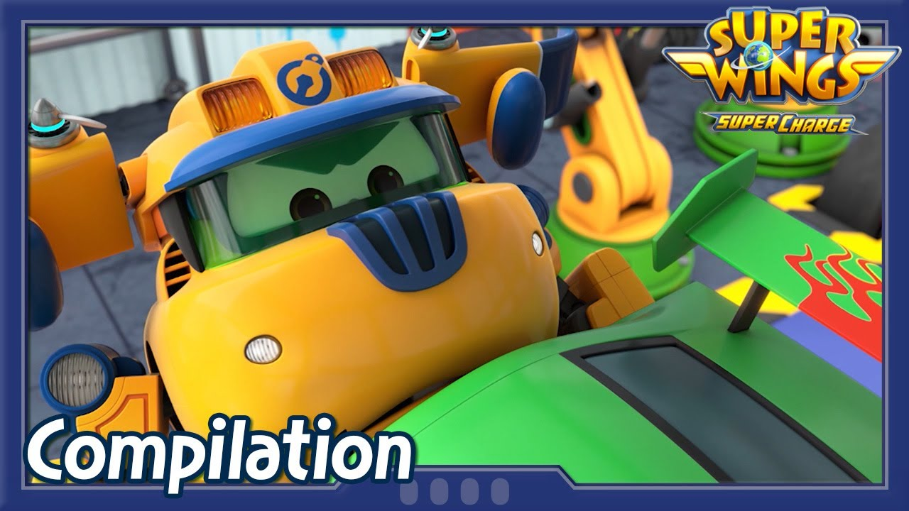 [Superwings s4 Compilation] EP01 ~ EP03 | Super wings Full Episodes