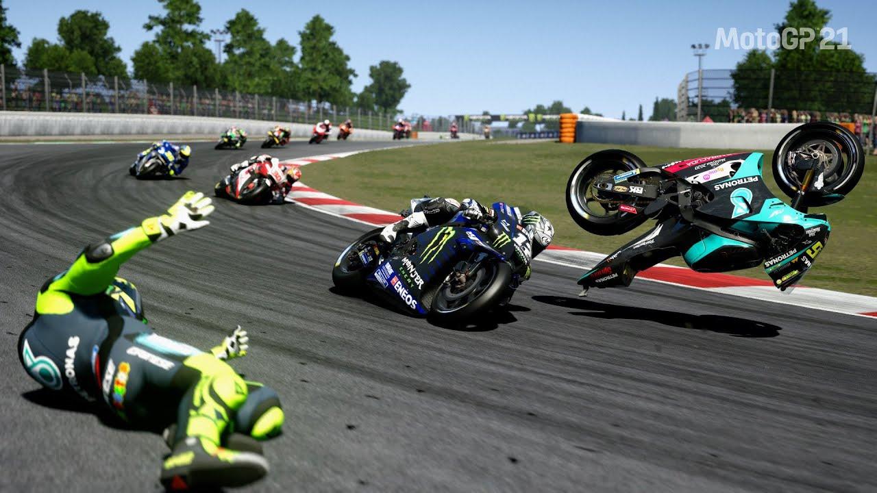 MotoGP 21 Crash Compilation | MotoGP™ Moments | By Ten Minute #73