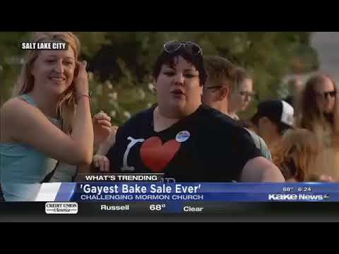 What's Trending: Double Jeans, 'Gayest Bake Sale Ever'
