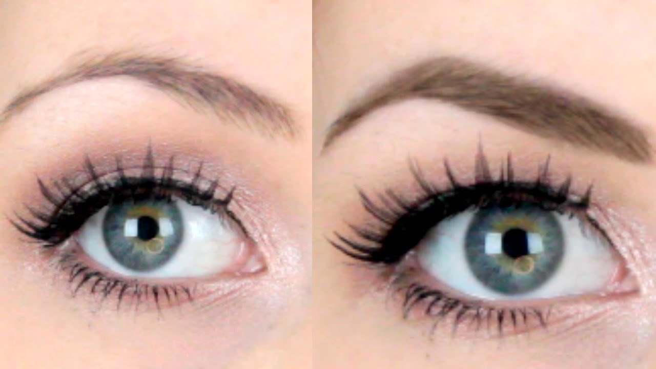 Eyebrow Before & After