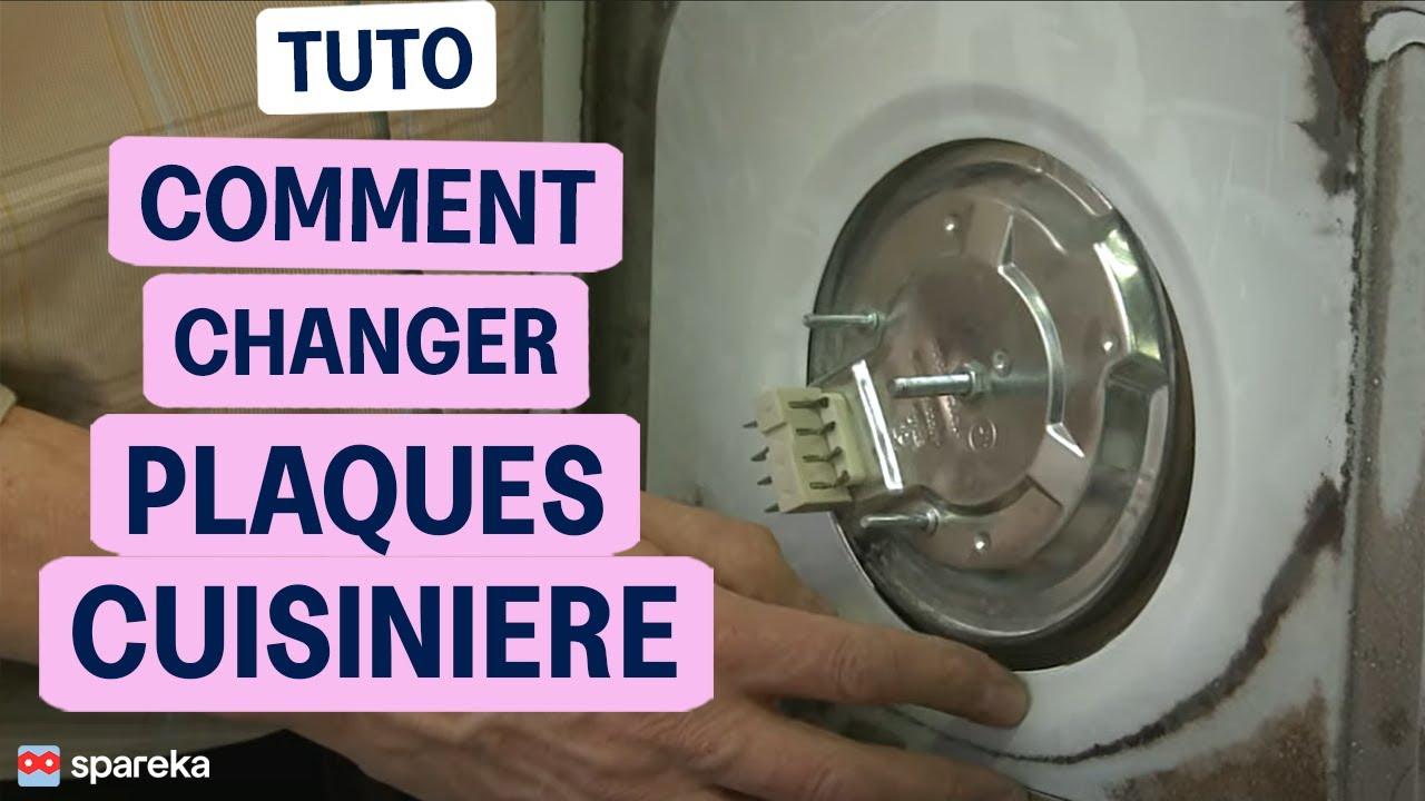 Remplacer les plaques chauffantes de votre four youtube - Comment enlever les taches sur plaque induction ...
