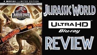 JURASSIC WORLD 4K Bluray Review | Jurassic Park Collection 4K