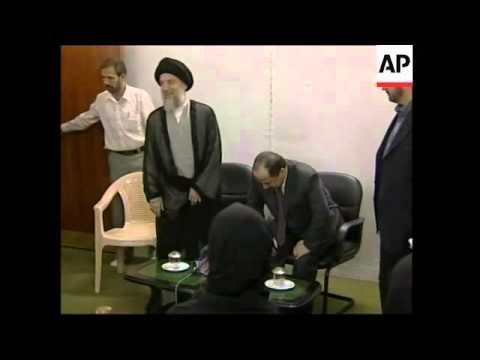 Kurdish leader meets Shia Muslim leaders