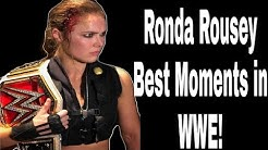 Ronda Rousey Best Moments in WWE  #WWE