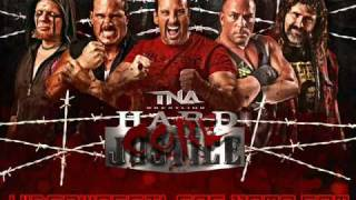 TNA HardCORE Justice: one night stand official Theme ('Parade Of The Dead' by Black Label Society).