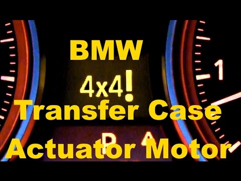 3 Series BMW Transfer Case Actuator Motor Replacement 4X4! e90 x3