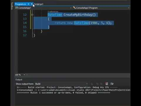 Converting C# to PowerShell