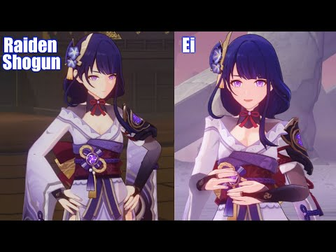 Download Raiden Shogun vs Ei Personality (Baal) - Genshin Impact