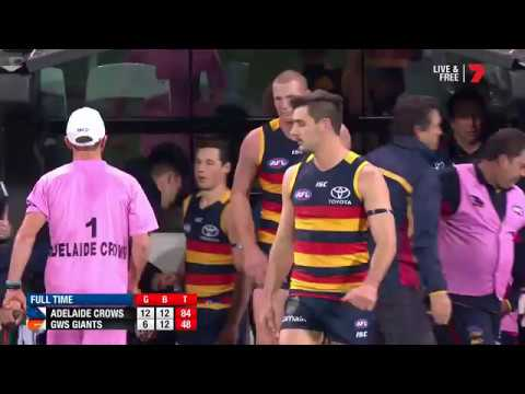 Qualifying Final 1 - Adelaide v GWS Giants Highlights
