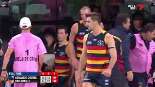 Qualifying Final 1 - Adelaide v GWS Giants Highlights