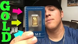 Buying GOLD BARS!