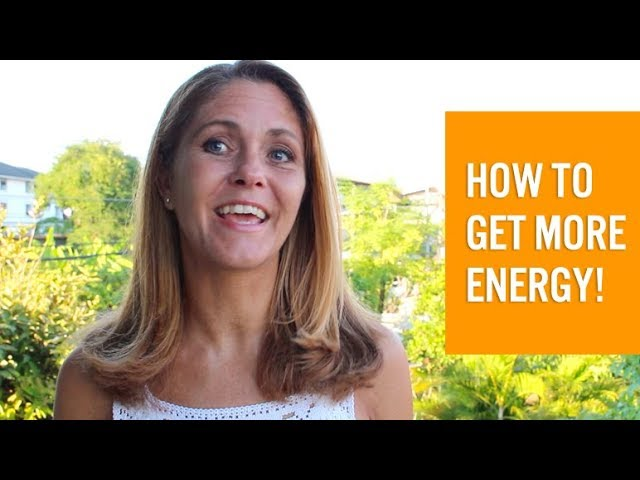 How to get more energy and be less tired