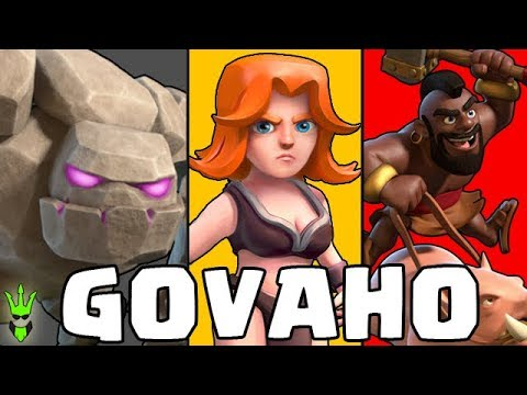 IS GOVAHO STILL GOOD? - GoVaHo Free Gem Event - Clash of Clans - TH9 Attacks