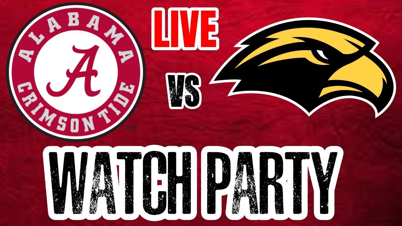 Live Updates: Alabama Crimson Tide vs. Southern Miss