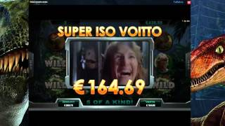 Jurassic Park Online Slot Freespins Big Win (1300 x bet!!!)(, 2016-01-24T15:44:13.000Z)
