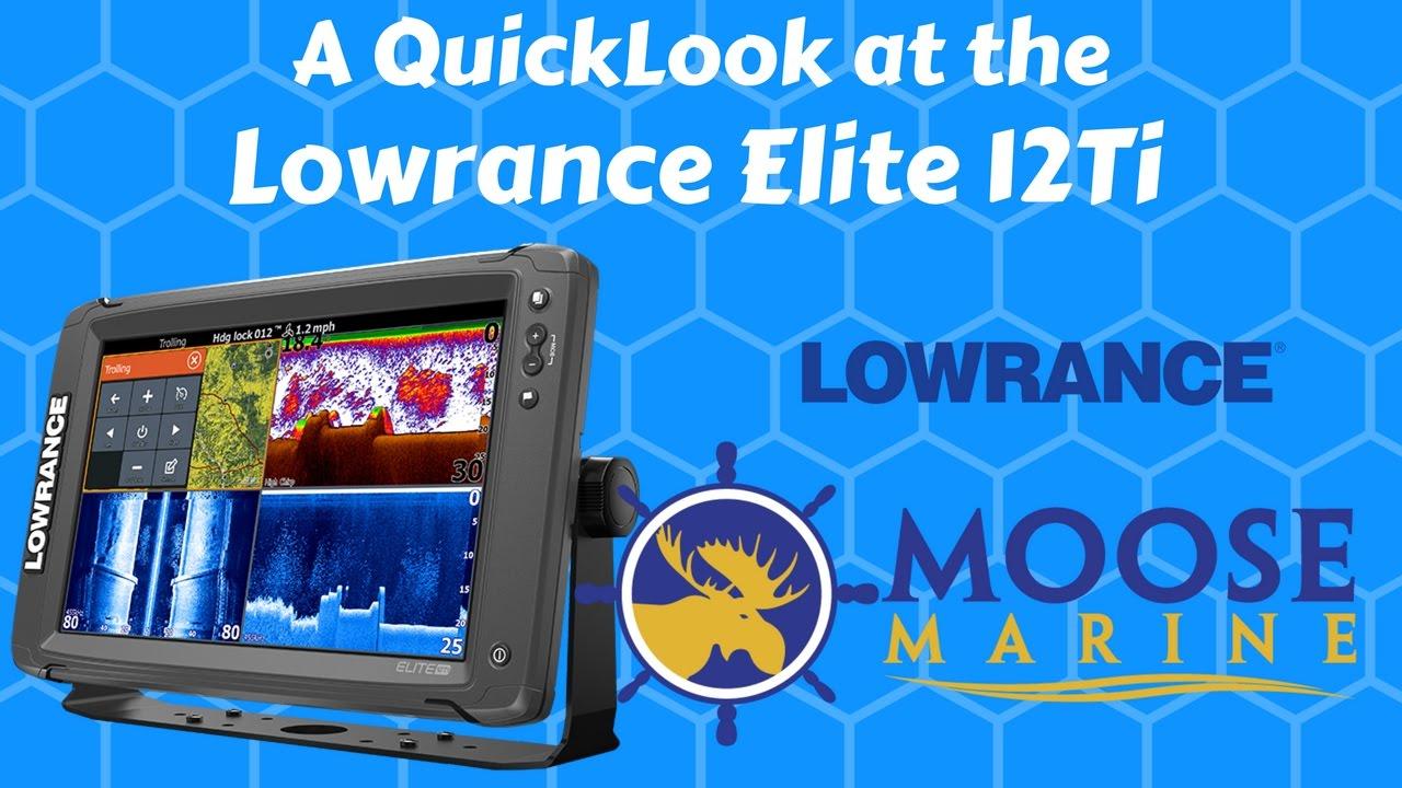 Lowrance Elite-12 Ti Review | Fish Finders | FishingTech