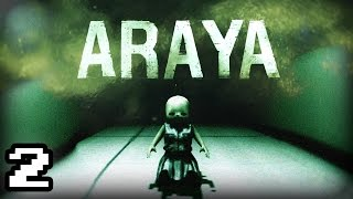 ARAYA   DISTURBING Baby Doll Jumpscares, KILLER With Knife (Full Game)   Chapter 2    Part 2