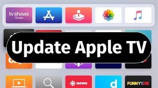 How to Update Apple TV 2020