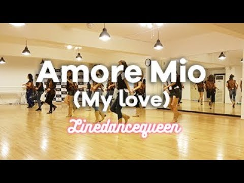 Amore Mio (My Love) Line Dance (Junghye Yoon) Improver Demo & Count