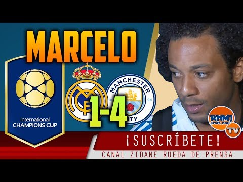 Declaraciones MARCELO post Real Madrid 1-4 Manchester City | ICC 2017